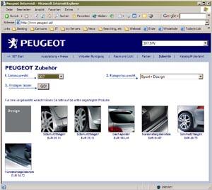 Peugeot Boutique